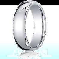 Palladium 6mm Traditional Comfort-Fit Ring