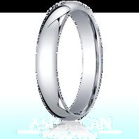 Palladium 4mm Comfort-Fit Ring