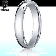 Platinum 4mm Comfort-Fit Ring