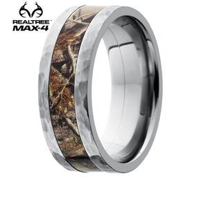 Buy Online This Lashbrook Realtree MAX 4 8mm Camo Inlay Titanium