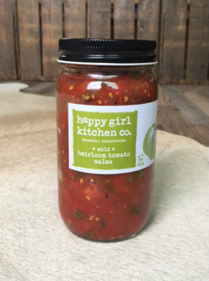 Happy Girl Kitchen - Heirloom Tomato Salsa