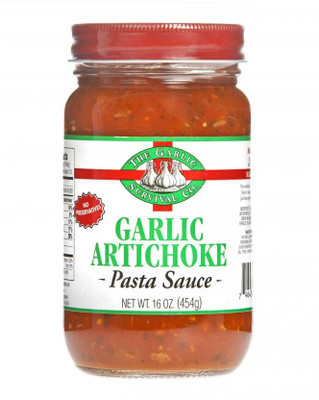The Garlic Survival Co. Garlic Artichoke Pasta Sauce