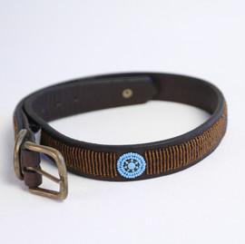 Maasai Beaded Dog Collar - Copper