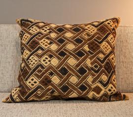 Shoowa Kuba Cloth Pillows