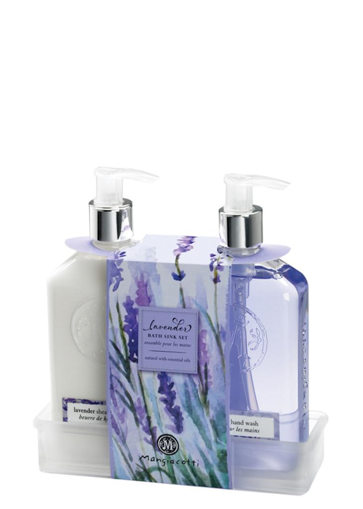 Lavender Bath Sink Set