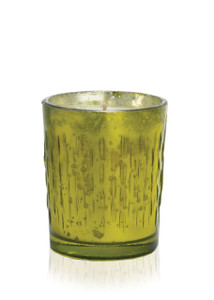 White Spruce Mercury Glass Soy Candle-8 oz.