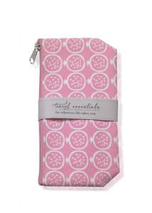 Pomegranate Travel Essentials Bag