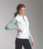 Ladie's Breeze Vest in White