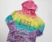 Youth Burnout Rainbow Hoodie