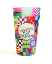 MP SIlks Design Frosted Pint Glass