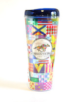 MP SIlks Design Acrylic Travel Tumbler