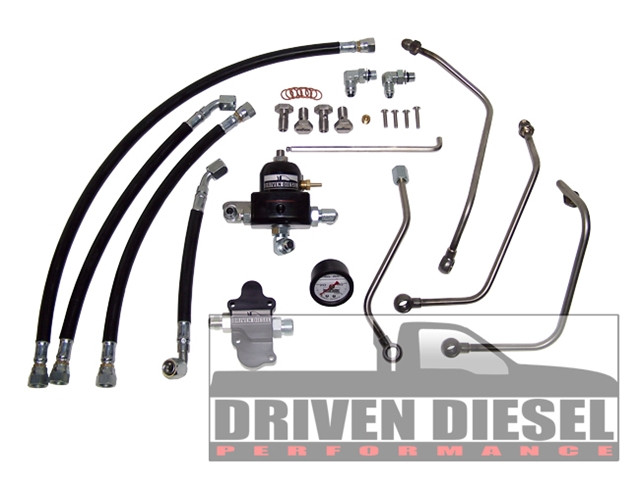 6 0l driven diesel regulated return fuel system kit