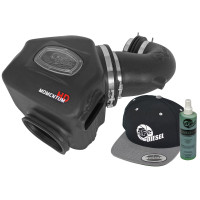 aFe POWER 51-72001-E Diesel Elite Momentum HD Pro DRY S Cold Air Intake System