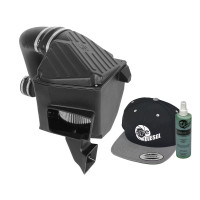 aFe POWER 51-81342-E Diesel Elite Stage-2 Si Pro DRY S Cold Air Intake System (07.5-09)