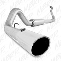 "MBRP 1994-1997 4"" Turbo Back Aluminized Exhaust System With Tip"