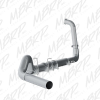 """MBRP 2003-2007 6.0L 5"""" T407 Stainless Turbo Back Exhaust System"""