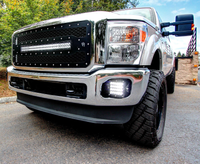 Rigid Industries Q Series Fog Light Kit 11-15 F250/F350/F450