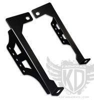 "Bumper Brackets for 20"" LED light bars - 08-10 Ford Superduty F250 F350"