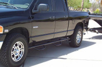 2002-08 Dodge Ram Quad Cab 4 Door 6ft. 4in Bed Nerf Step with Bed Access Step