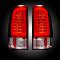 2008 - 2016 Ford Recon Red LED Tail Lights
