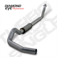 "Diamond Eye 5"" Turbo Back Stainless Exhaust 1994-2002 5.9"