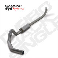 "Diamond Eye 4"" Turbo Back Stainless Exhaust 2003-2004 5.9"