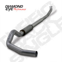 "Diamond Eye 5"" Turbo Back Stainless Exhaust 2003-2004 5.9"