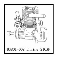 Redcat Racing Part Number BS801-002