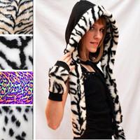 Zebra Fur Trim.