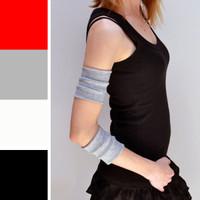 Grey Cotton Arm Bands