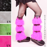 Pink Fur with Black Metallic.
