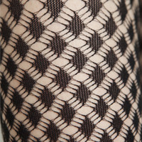 Jonathan Aston Diamond Ripple Fishnet Tights