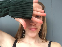 Hand Sewing Class - Upcycle a Sweater Into Gloves or Leg Warmers - Wednesday, December 7