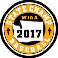 State Baseball 2017 Champ Patch