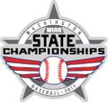State Baseball Pin 2017