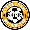 State Champ Soccer Patch 2016-17