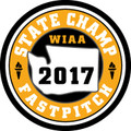State Fastpitch 2017 Champ Patch