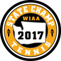 State Tennis 2017 Champ Patch