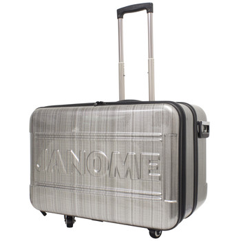 Janome Horizon ABS Rolling Trolley Angle View