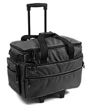 BlueFig TB19 Sewing Machine Carrier/Project Bag/Notion Bag in Black