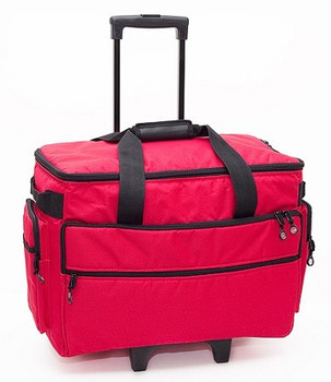 BlueFig TB19 Sewing Machine Carrier/Project Bag/Notion Bag (Red)