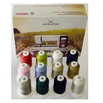 Janome Horizon Best 12 Cotton Quilting Thread Set