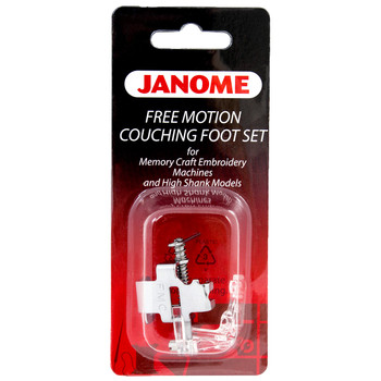 Janome Memory Craft High Shank Free Motion Couching Foot