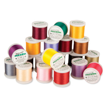 Madeira 20 Spool Embroidery Thread Value Pack Polyneon