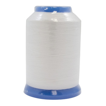 Janome White Embroidery Bobbin Thread #90 / 1600 Meters