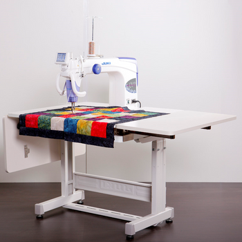 Juki TL-2200QVP-S Long Arm Quilting Machine with Sit Down Table