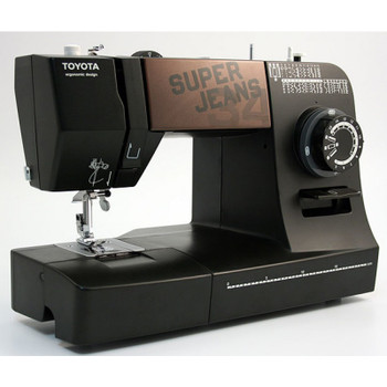 Toyota J34 Super Jeans Sewing Machine left view