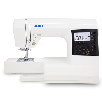 Juki HZL-G120 Computerized Sewing and Quilting Machine arm