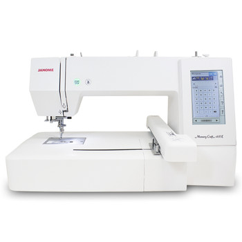 Janome Memory Craft 400E Embroidery Machine Refurbished