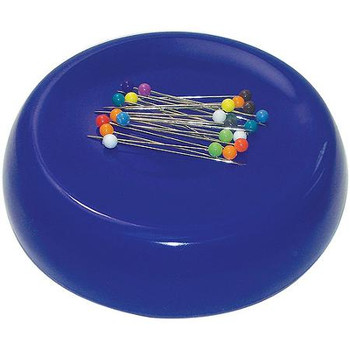 Grabbit Purple Magnetic Pincushion With 50 Pins